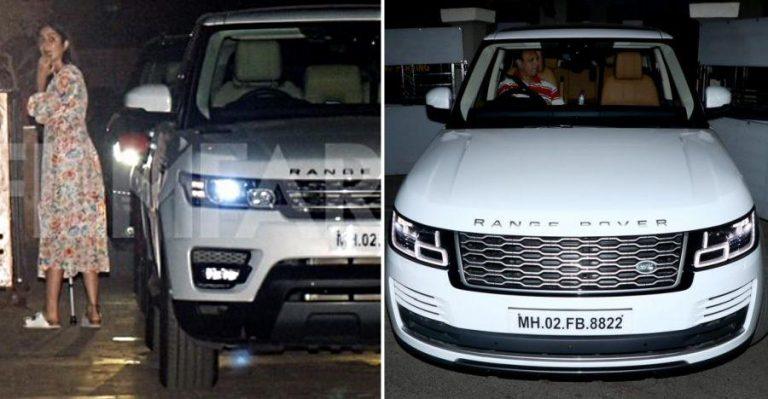 Katrina Kaif Range Rover