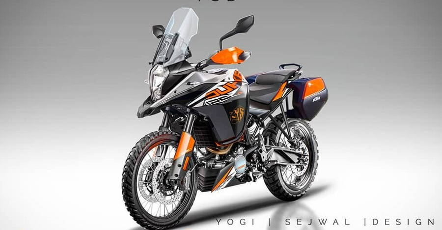 Ktm 125 Duke Adventure Render