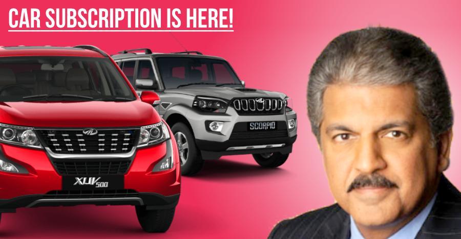 Mahindra Car Subscription 2