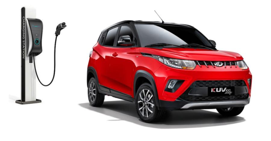 Mahindra Kuv100 Electric Featured 1