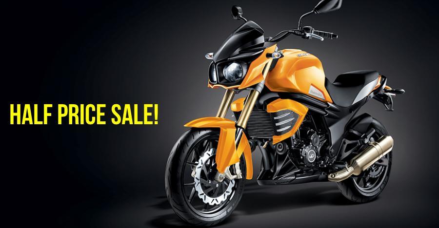 Mahindra Mojo UT300 selling at a MASSIVE Rs. 75,000 discount