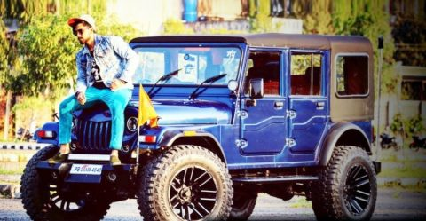 Mahindra Thar Monster Mod Featured