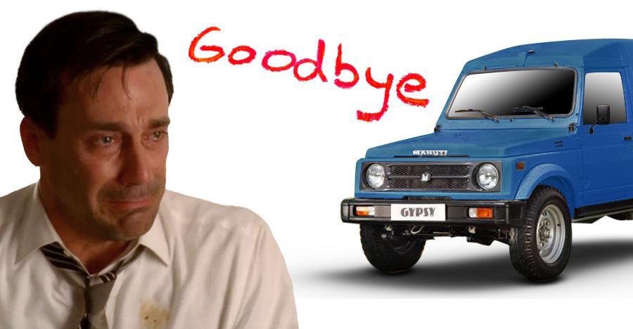 Maruti Gypsy Goodbye Featured 1