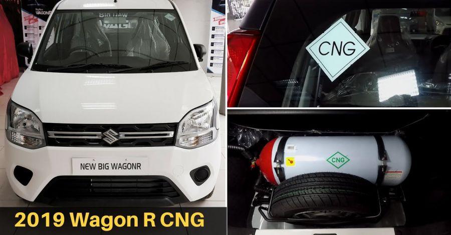 Maruti WagonR CNG walkaround video out