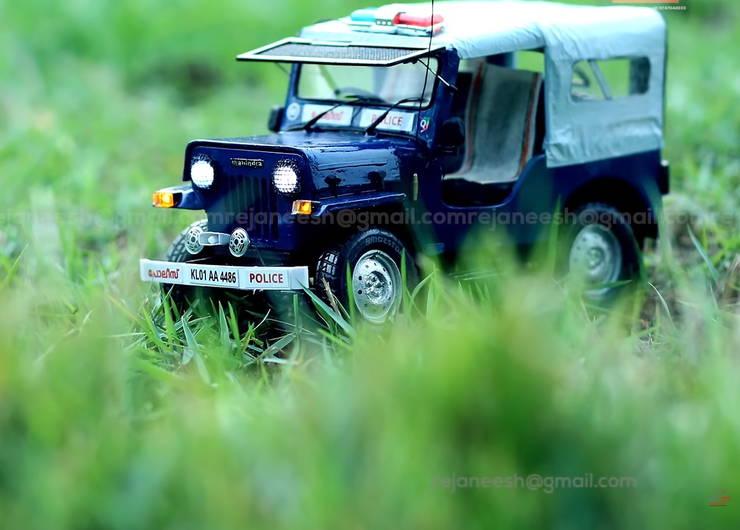 Miniature Police Car 2 (2)