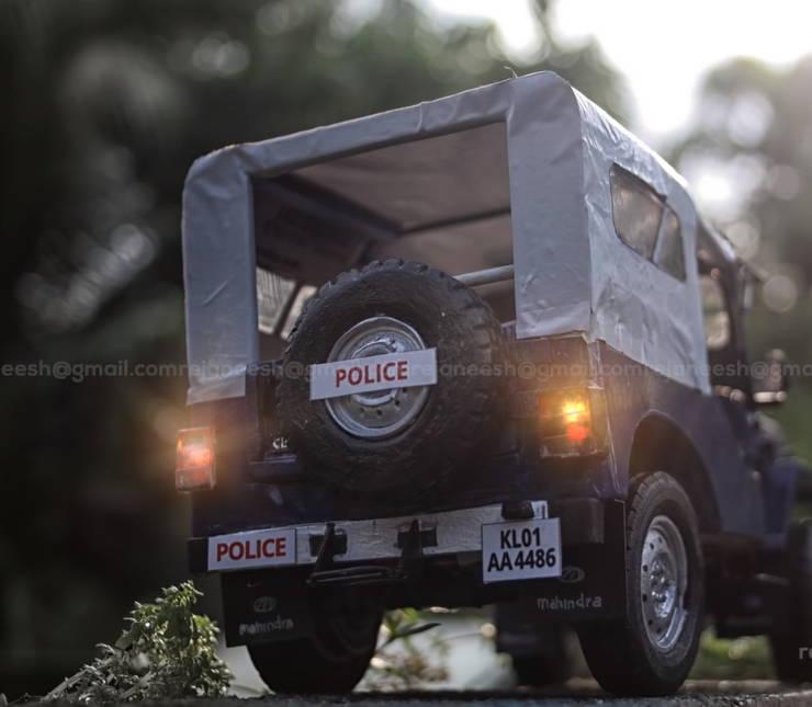 Miniature Police Car (2)