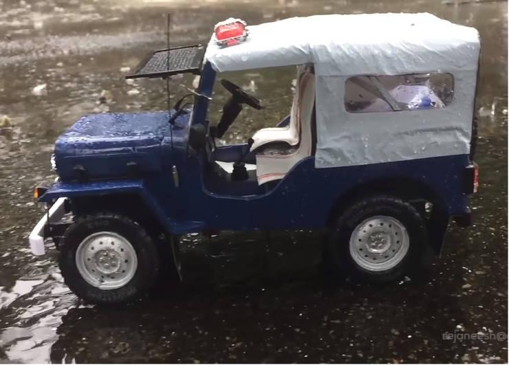 Miniature Police Car 9