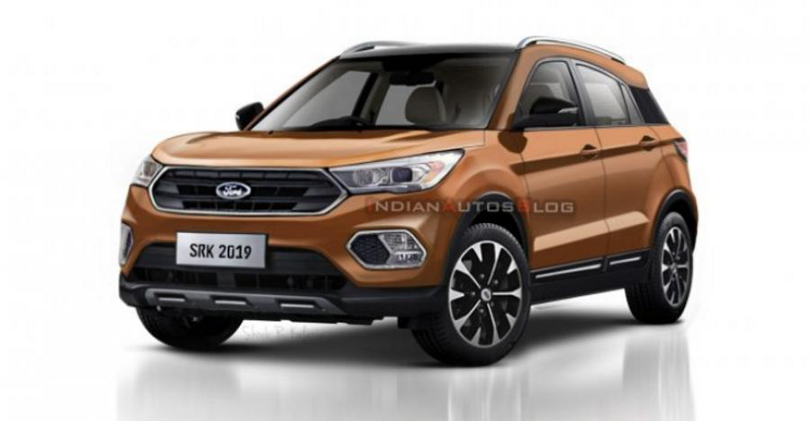 Next Gen Ford Ecosport India Spec Featured