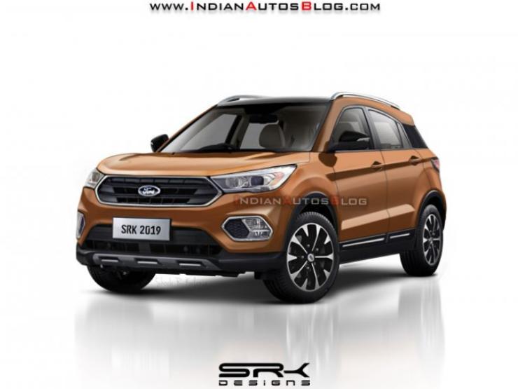 Next Gen Ford Ecosport India Spec