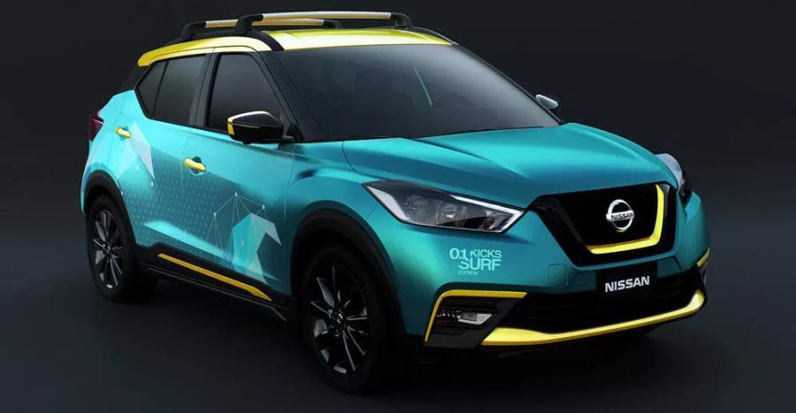 Nissan Kicks Surf Concept Featured