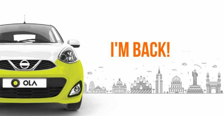 Ola Cabs Featured