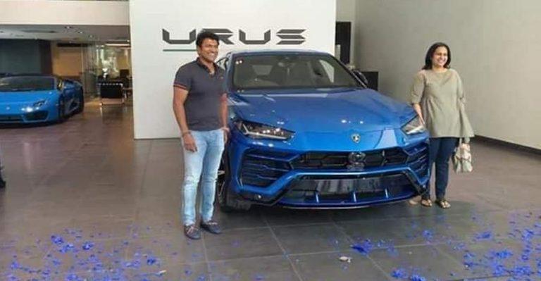 Puneeth Rajkumar Lamborghini Urus 1