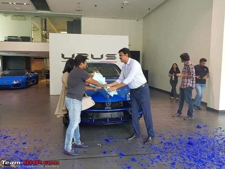 Puneeth Rajkumar Lamborghini Urus 3