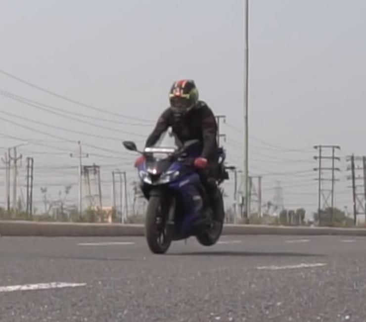 R15 Brake Test