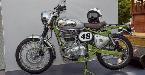 Royal Enfield Classic 500 Trails Featured