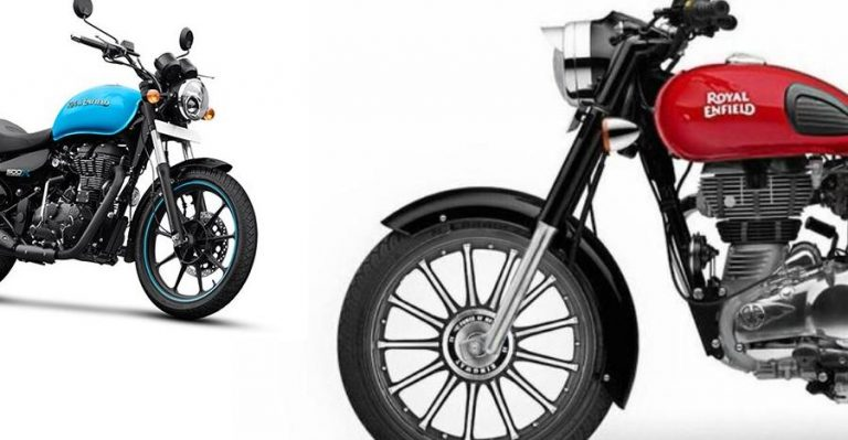 Royal Enfield Classic Alloy Wheels Featured