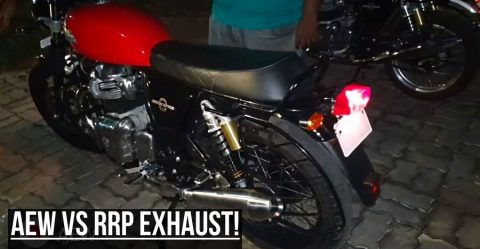 Royal Enfield Exhaust Comparo Featured 3