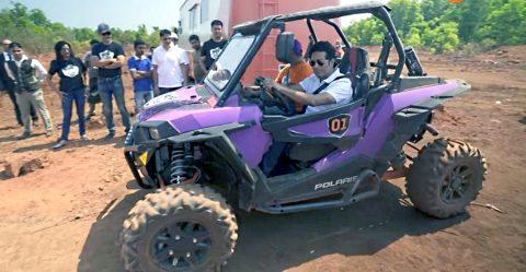 Sachin Tendulkar Off Roading Featured