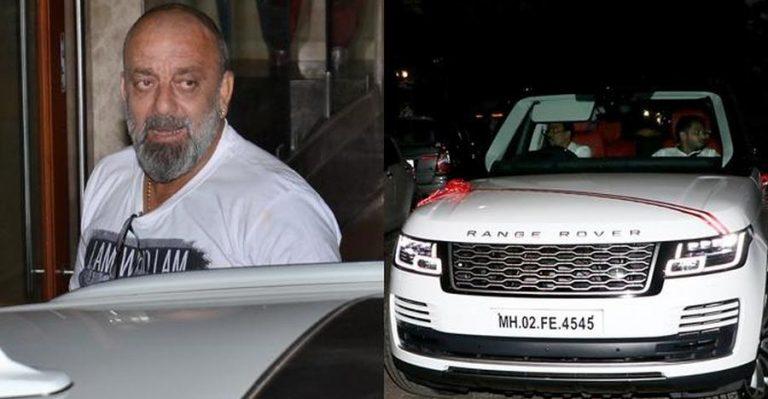 Sanjay Dutt Range Rover Featured
