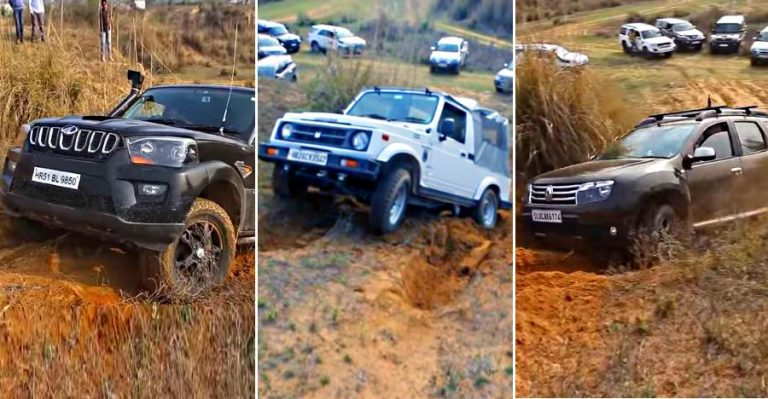 Scorpio Duster Gypsy Off Road Climb Featured