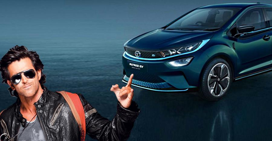Check out the Tata Altroz EV, an electric car that will go 300 Kms on a single charge
