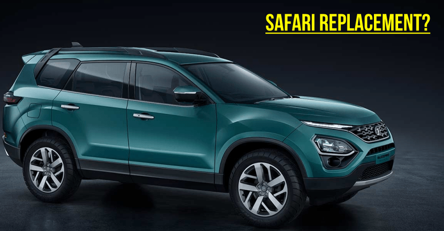 The Tata Buzzard is here: 7 seat Harrier!