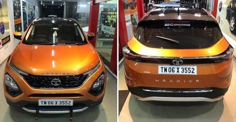 Tata Harrier Dual Tone Roof Featured
