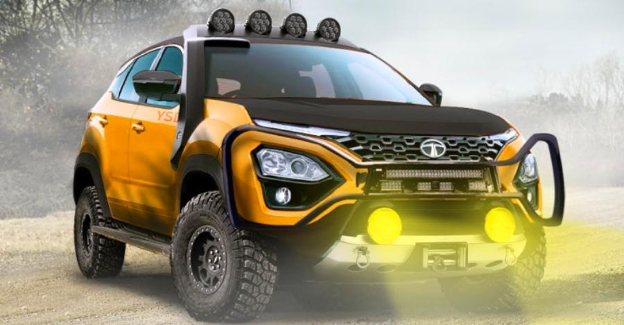 Tata Harrier Off Road Render Featured 1
