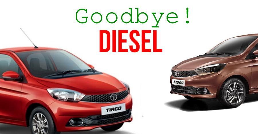 Tata Tiago & Tigor Diesels to be discontinued