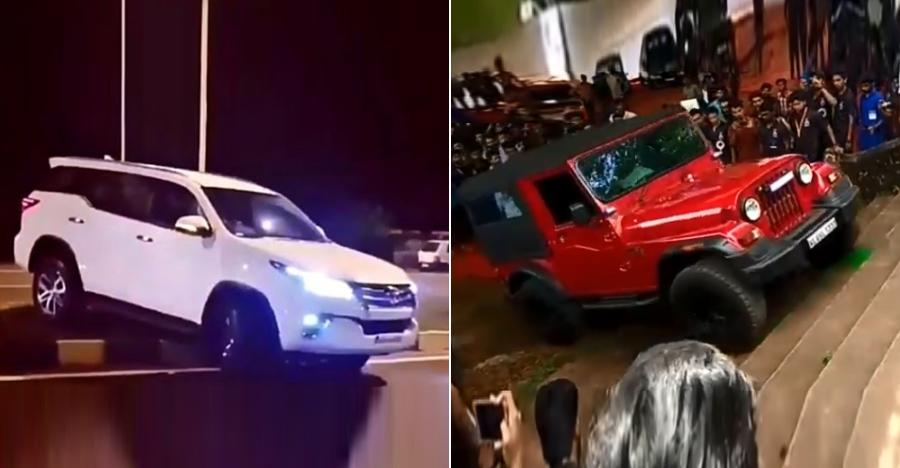 5 CRAZY things that can only be done in a 4X4 SUV like Toyota Fortuner or Mahindra Thar [Video]