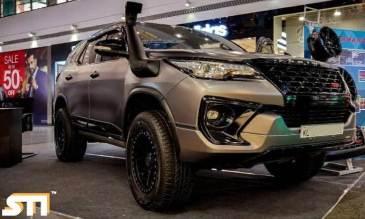 This modified TRD Toyota Fortuner looks MAD