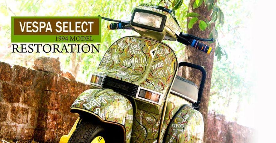 Vespa Select Restoration Featured
