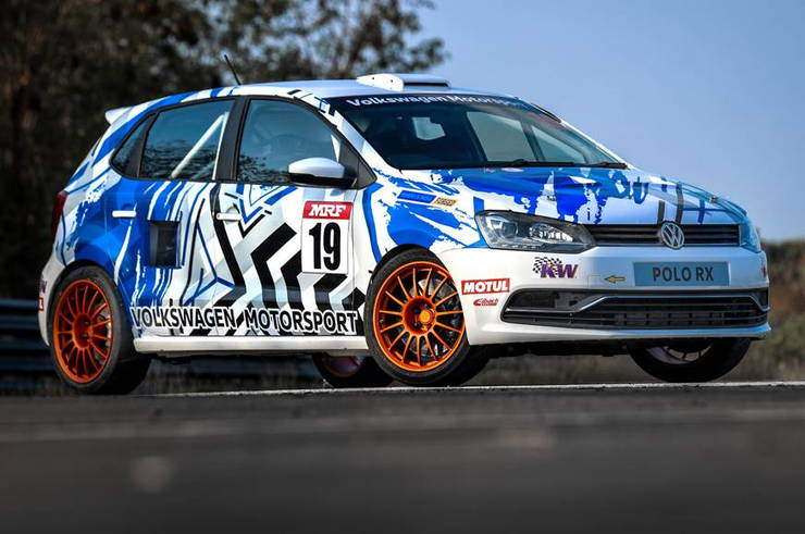 Volkswagen Polo Rx Front Three Fourth