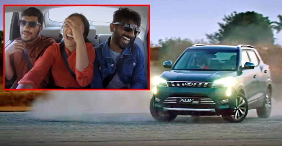 Watch the Mahindra XUV300 in the 'donut challenge' with Gaurav Gill [Video]
