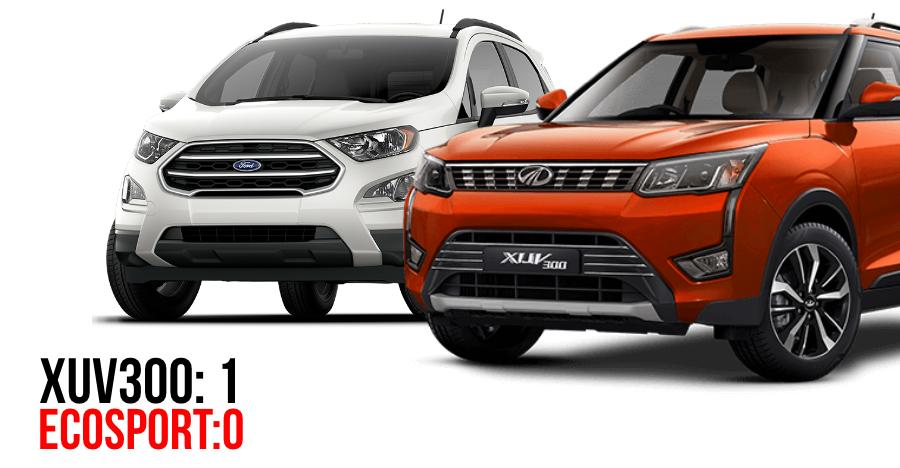 Mahindra XUV300 BEATS Ford EcoSport in 15 days of sales, approaches Tata Nexon numbers