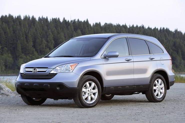 2008 Honda Cr V 4