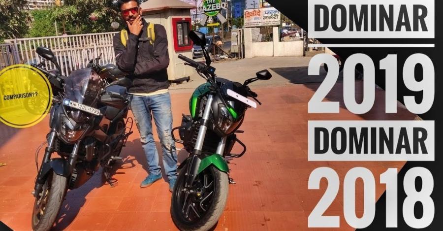 2018 Bajaj Dominar Vs 2019 Dominar Featured