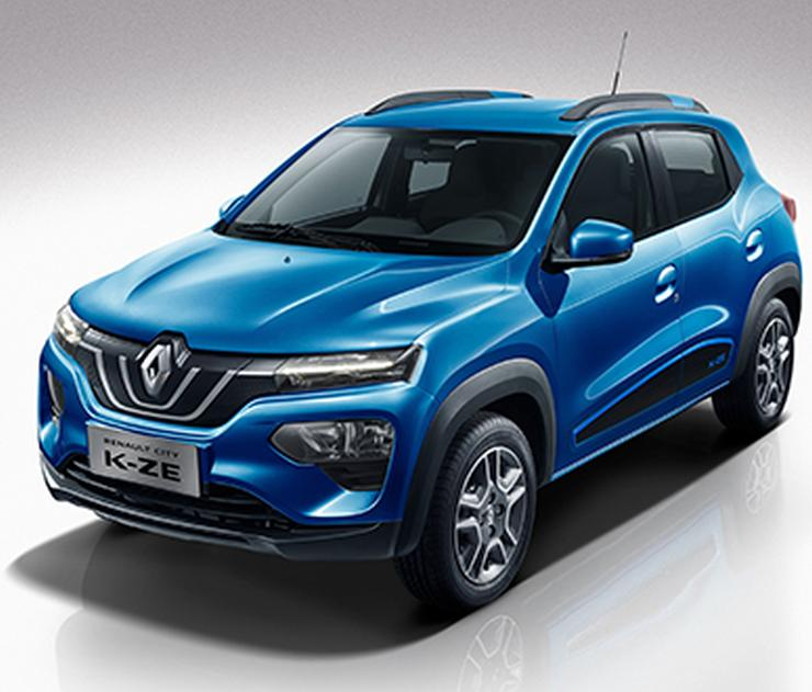 2020 Renault Kwid Based K Ze Electric Hatchback 1