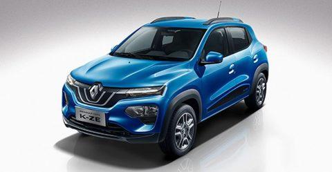 2020 Renault Kwid Based K Ze Electric Hatchback Featured