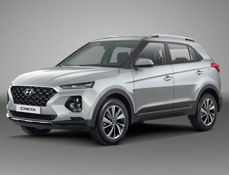 2020 Hyundai Creta Render 3