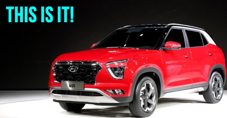 Upcoming new Hyundai Creta revealed at Shanghai Motor Show