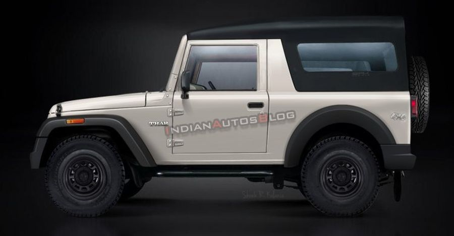 2020 Mahindra Thar Render Featured
