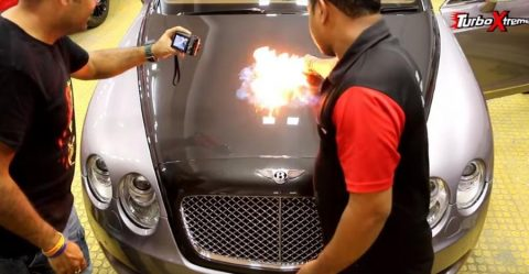 Bentley Continental Fire Featured 2