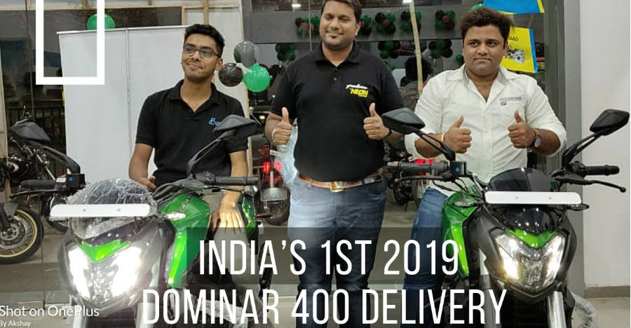 2019 Bajaj Dominar 400 launched, delivery starts [Video]