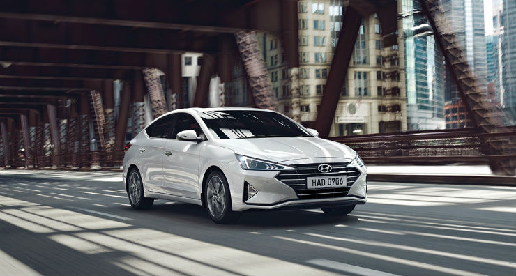 Upcoming Hyundai Elantra facelift to be offered with ...