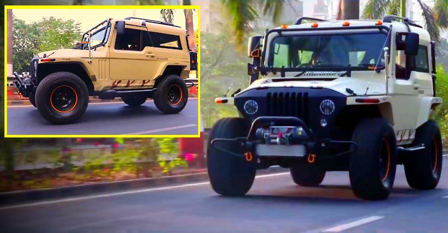 Mahindra Custom Suvs On Road Featured