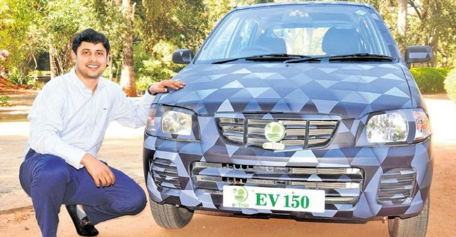 India's first Maruti Alto converted into an electric car: Registered by the RTO