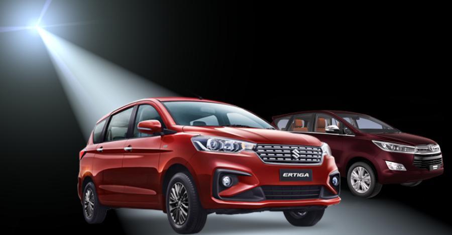 New Maruti Ertiga is India's best-selling MPV, OUTSELLS Toyota Innova Crysta