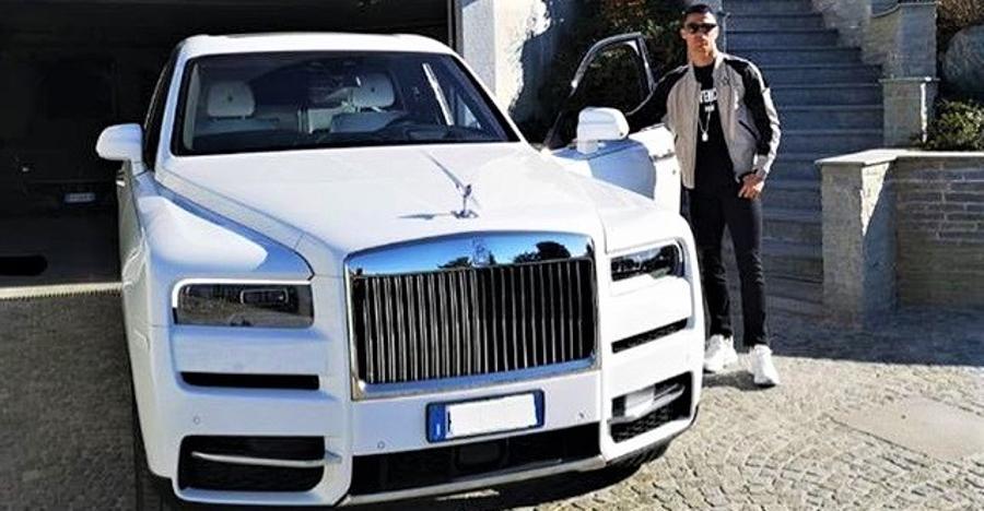 Cristiano Ronaldo adds a Rolls Royce Cullinan to his garage