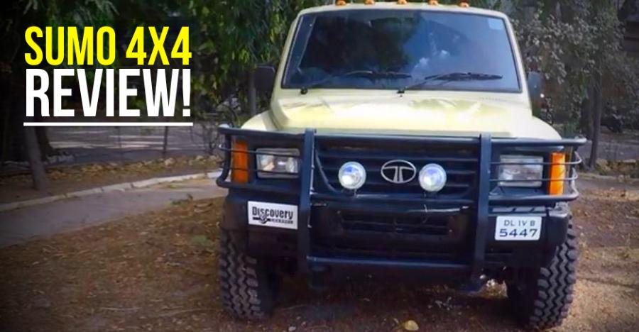 Tata Sumo 4x4 Review Featured